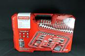 Craftsman 115 pc. Universal Mechanics SAE/Metric Tool Set with Case MTS